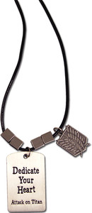 Attack on Titan Necklace - Scouting Regiment