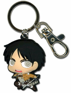 Attack on Titan PVC Keychain - SD Eren