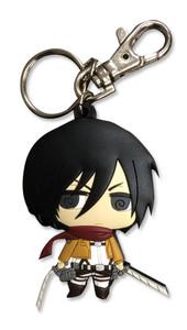 Attack on Titan Keychain - SD Mikasa