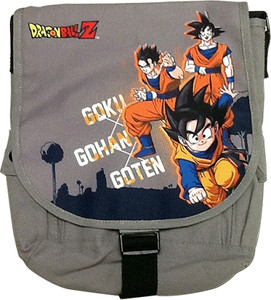 Dragon Ball Messenger Bag - Goku, Gohan & Goten