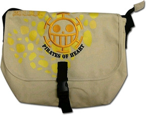 One Piece Messenger Bag - Pirates of Hearts (Law)