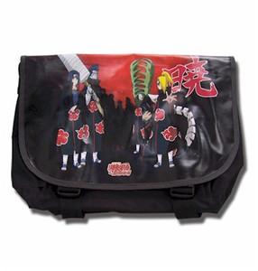 Naruto Shippuden Akatsuki Messenger Bag (Black)