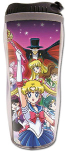 Sailor Moon Tumbler - Group