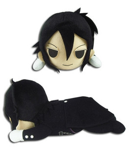 Black Butler Plush Doll - Sebastian Lying Posture