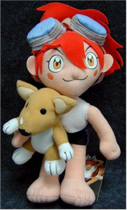 Cowboy Bebop Plush Doll - Ed with Ein 8''