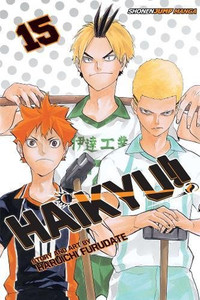 Haikyu!! Graphic Novel 15