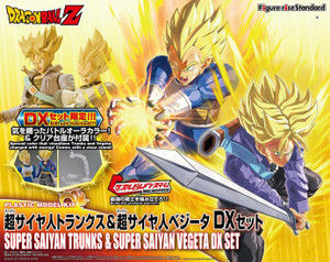 Dragon Ball Super Model Kit: Super Saiyan Trunks & Vegeta