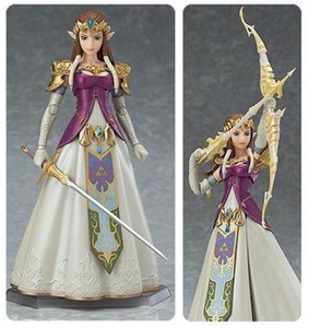 Legend of Zelda Figma: Princess Zelda Twilight Princess Ver.