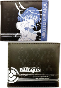A Certain Scientific Railgun Wallet - Mikoto (Bi-fold)