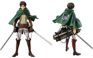 Attack On Titan Master Stars Piece - Eren & Equipment