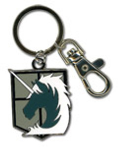 Attack on Titan Metal Keychain - Military Police