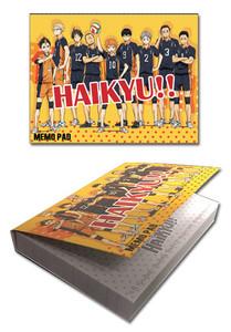 Hiakyu!! Sticky Memo Pad - Group 1