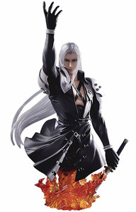 Final Fantasy VII Static Arts Gallery: Sephiroth Bust
