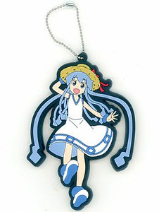 Squid Girl PVC Keychain - Squid Girl (Normal Ver.)