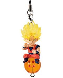 Dragon Ball Z Figure Strap - Super Saiyan Son Goku