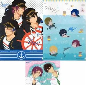 Free! Folder (2-pc) - Haruka, Rin & Rei / SD Swimming