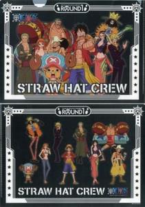 One Piece Folder - Straw Hat Crew (Black)