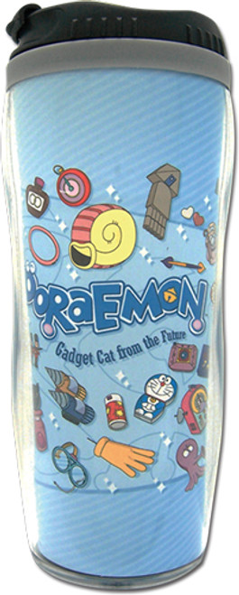 Doraemon-Gadgets Blue Tumbler