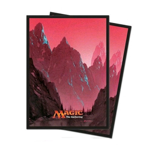 Magic the Gathering Sleeves: Mana 5 - Mountain
