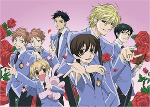 Ouran High School Host Club Wallscroll #5232