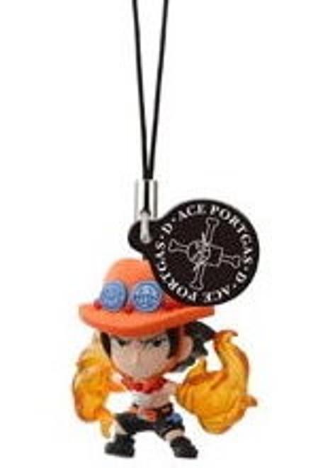 One Piece Figure Strap - Portgas D. Ace