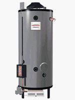 Rheem G100-200 Water Heater - 100 Gallon Commercial Gas 200,000 BTU