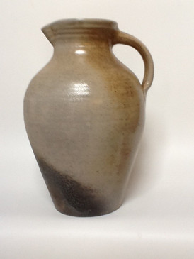 2 Gallon Pitcher-Woodfired Vapor Glaze