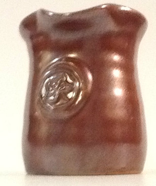 Maple Syrup Pitcher-Red Umber