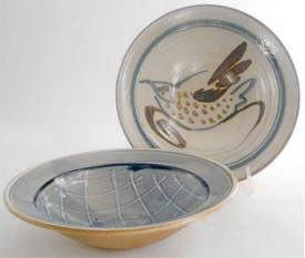 Bowl-Bouillabaise-9 inch diameter 2