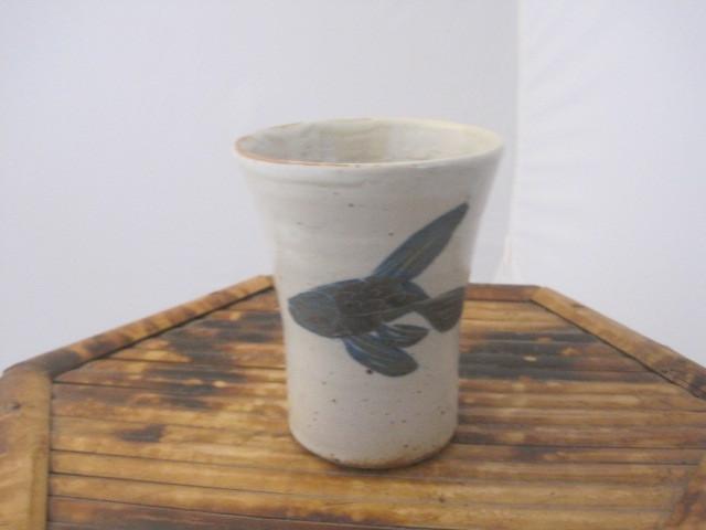 Straight Mug-Fish Blue