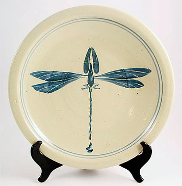 Serving Platter - Bird,Fish,Dragon Fly
