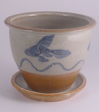 Planter and Saucer 5