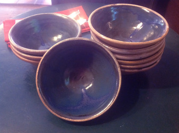 Salsa/Chowder Bowl-Navy Blue--SOLD!