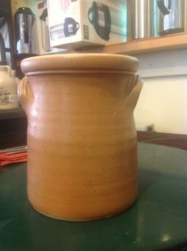 Large Spoon Holder-WoodFire-Vapor Glaze--SOLD!