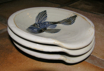 Spoonrest-Fish decoration--SOLD!