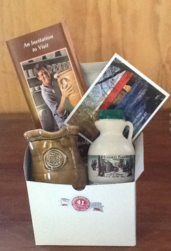 Maple Syrup and Pitcher Gift Set-FREE SHIPPING!