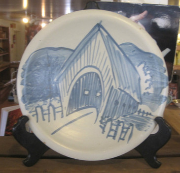Covered Bridge Platter
