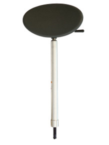 Kingpin Non-Threaded Control Post with Charcoal Seat