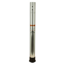 "Thread-Lock 27"" Table Post Polished Fluted 2-3/8"""
