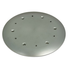 Pedestal Mounting Deck Plate 12""