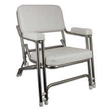 Classic Folding Deck Chair Stainless Steel