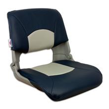 Skipper Fold Down Chair with Cushions Blue & Gray
