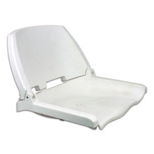 Traveler Fold Down Seat White