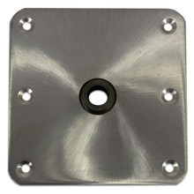 "Kingpin 7""X 7"" Stainless Steel Floor Base"