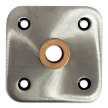 "Kingpin 4"" X 4"" Floor Base With Brass Bushing"