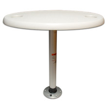 Thread-Lock Table Package with Oval Table Top