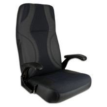 Norwegian Seat Black & Charcoal
