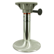 "Clipper Anodized 15"" Pedestal w/Swivel"