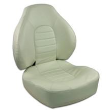 Fish Pro 100 Fold Down LB Seat Off White