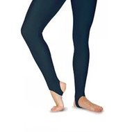 BOYS BALLET COMPANY BLACK STIRRUP LEGGINGS